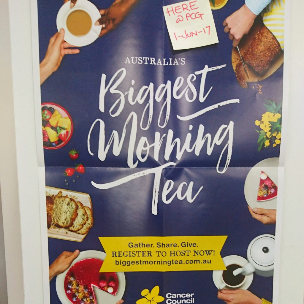 PCG Celebrates Biggest Morning Tea