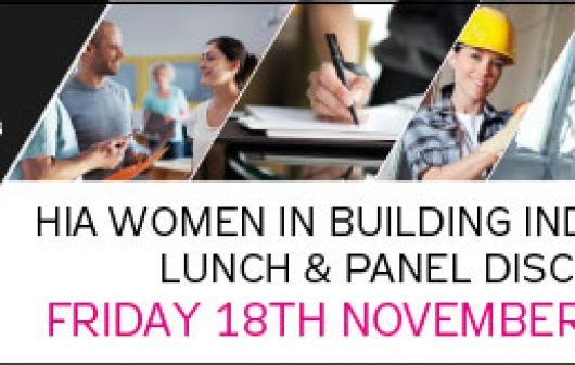 HIA Women in Building Industry Luncheon Nov 2016 Brisbane PCG News Update