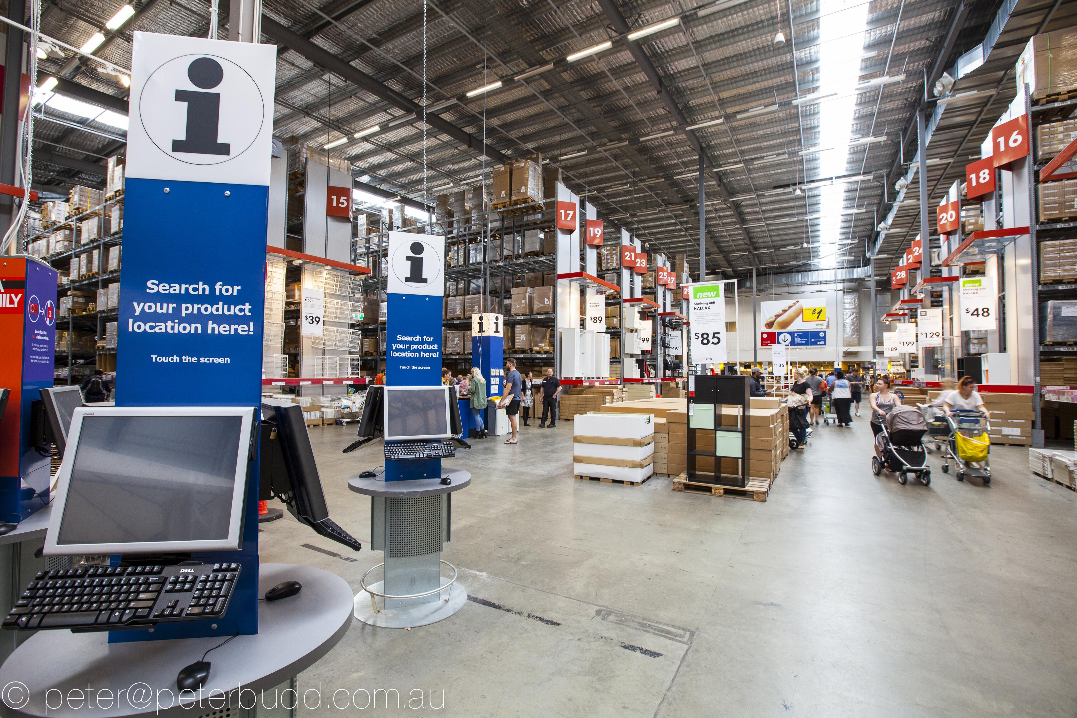 ikea logan fitout building certification PCG Portfolio