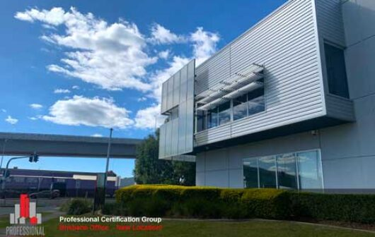 Professional Certification Group Brisbane Office New Location
