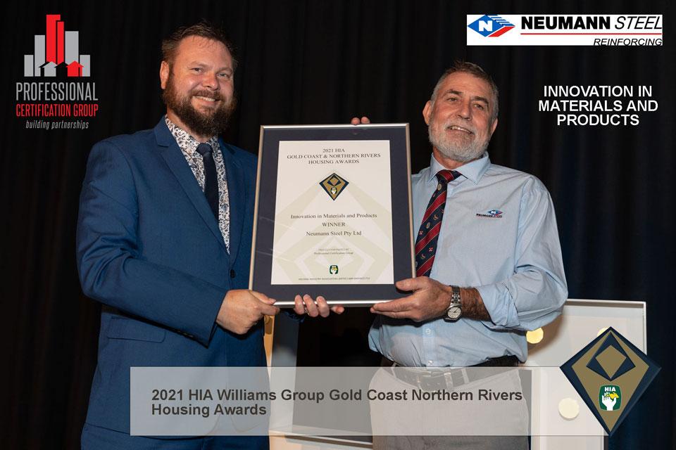 PCG-Sponsor-HIA-Williams-2021-Housing-Awards-Neumann-Steel